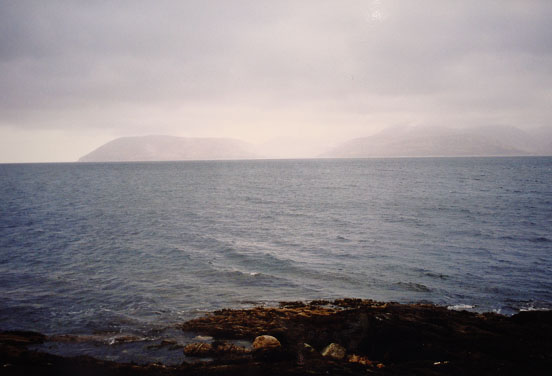 Kibrannan Sound from Kintyre